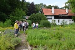 Führung im Kräutergarten / Sommer 2016 / Seidlhof