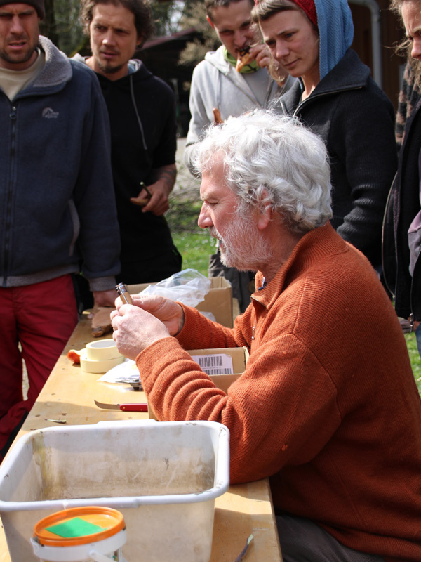 Veredelungskurs, praktischer Teil / April 2017 / Seidlhof