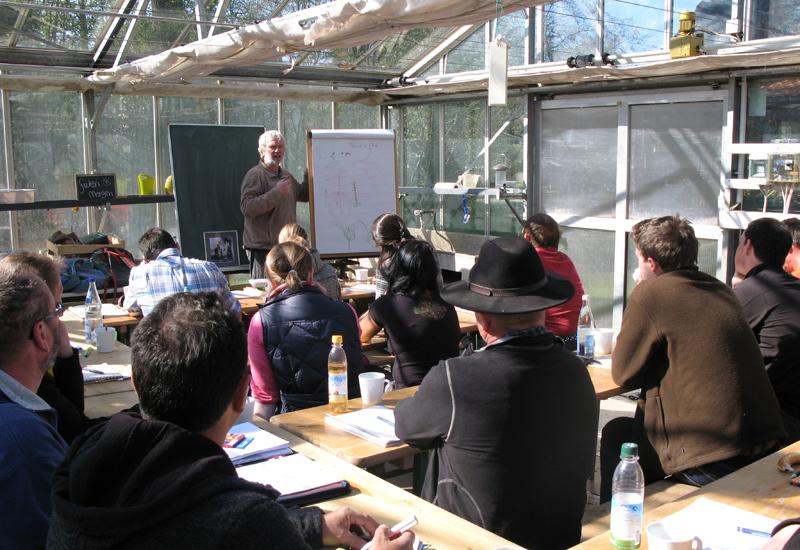 Schulung im Grünen Klassenzimmer / Kurs 2016 / Seidlhof