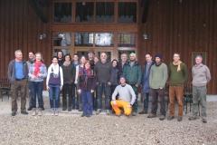 Abschlussklasse staatlich geprüfte Obstbaumpfleger / Kurs 2016 / Seidlhof